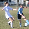 Gallery: Girls&#8217; Soccer Blue &#038; Black Scrimmage