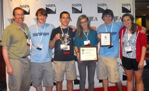 East Journalism Receives Recognition at Spring Convention