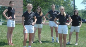 The Girls' Golf Team will have to Step Up Next Season After Losing Four Seniors