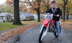 Freshman Gets Back Into Motocross After Leg Injury