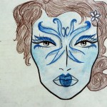 Make-up design for Major Fairies (A Midsummer Night&#039;s Dream)