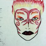 Make-up design for Oberon (A Midsummer Night&#039;s Dream)