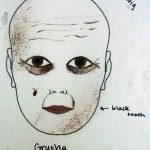 Make-up design for Grusha (The Government Inspector)