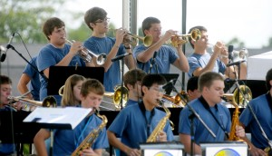 Soundslide: Pep Band Performance