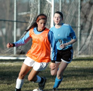 Girls Soccer Player Out for Season