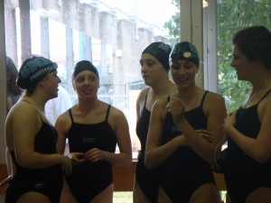 Record Number of Girls on Swim and Dive Team