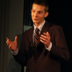 Brian Phillips performs his Informative Speech &quot;The Necktie: A Long and Knotty History.&quot;