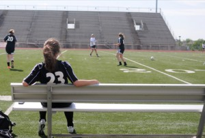 Second-String Soccer Player Learns Lessons on the Bench