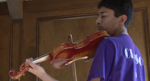 Sophomore Makes Carnegie Hall's National Youth Orchestra