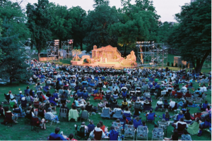 Freshman Does Shakespeare in the Park