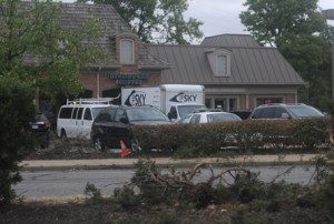 Truck Crashes into Dolce Bakery