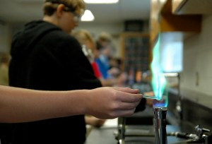 Gallery: Chemistry Flame Experiment