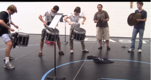 Video: Seniors on Drum Line