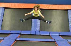 Sky Zone Trampoline Park Provides Enjoyable Workout