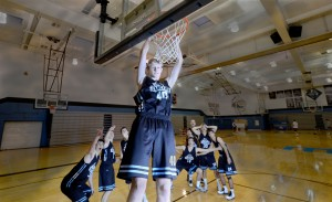 Sophomore Basketball Player Continues to Shine