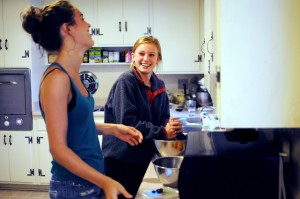 Cooking with Rae and Helen: Sunday Morning Granola