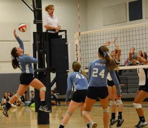 New Coach Ignites Volleyball Team