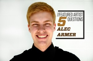 Featured Artist: Alec Armer