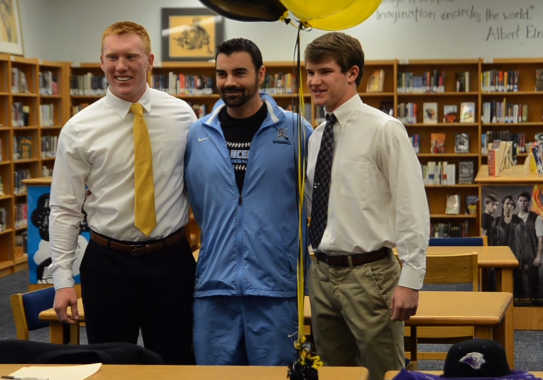 Two Seniors Sign to Play Baseball in College