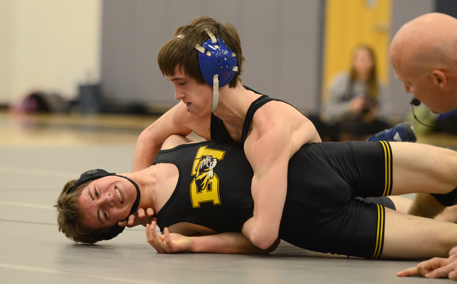 Wrestlers Surprise Competition at State