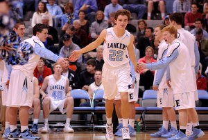 Basketball Teams Host Pink and Blue Night