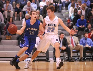 Gallery: Boys' Basketball vs. Harrisonville
