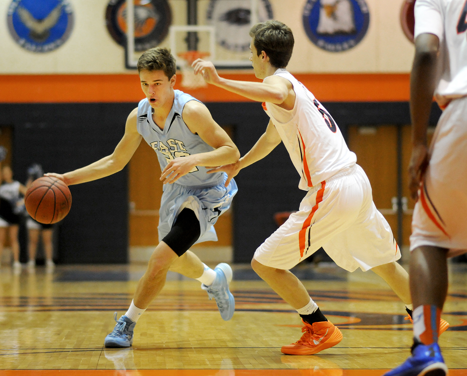 Gallery: Boys' Basketball vs. Olathe East