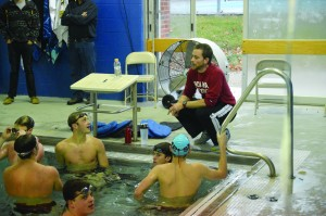 Assistant Swim Coach Makes Impact Both In and Out of the Pool