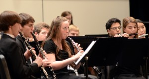 Band Participates in Concerts, Competition