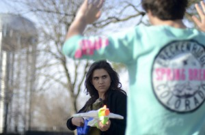 "Seniors Begin Annual ""Assassins"" Game"