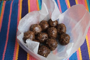 Grass Fed: Vegan, No-Bake, Java Chip Energy Bites