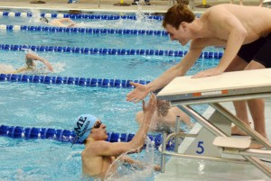 Gallery: Boy's Swim at Topeka Invitational
