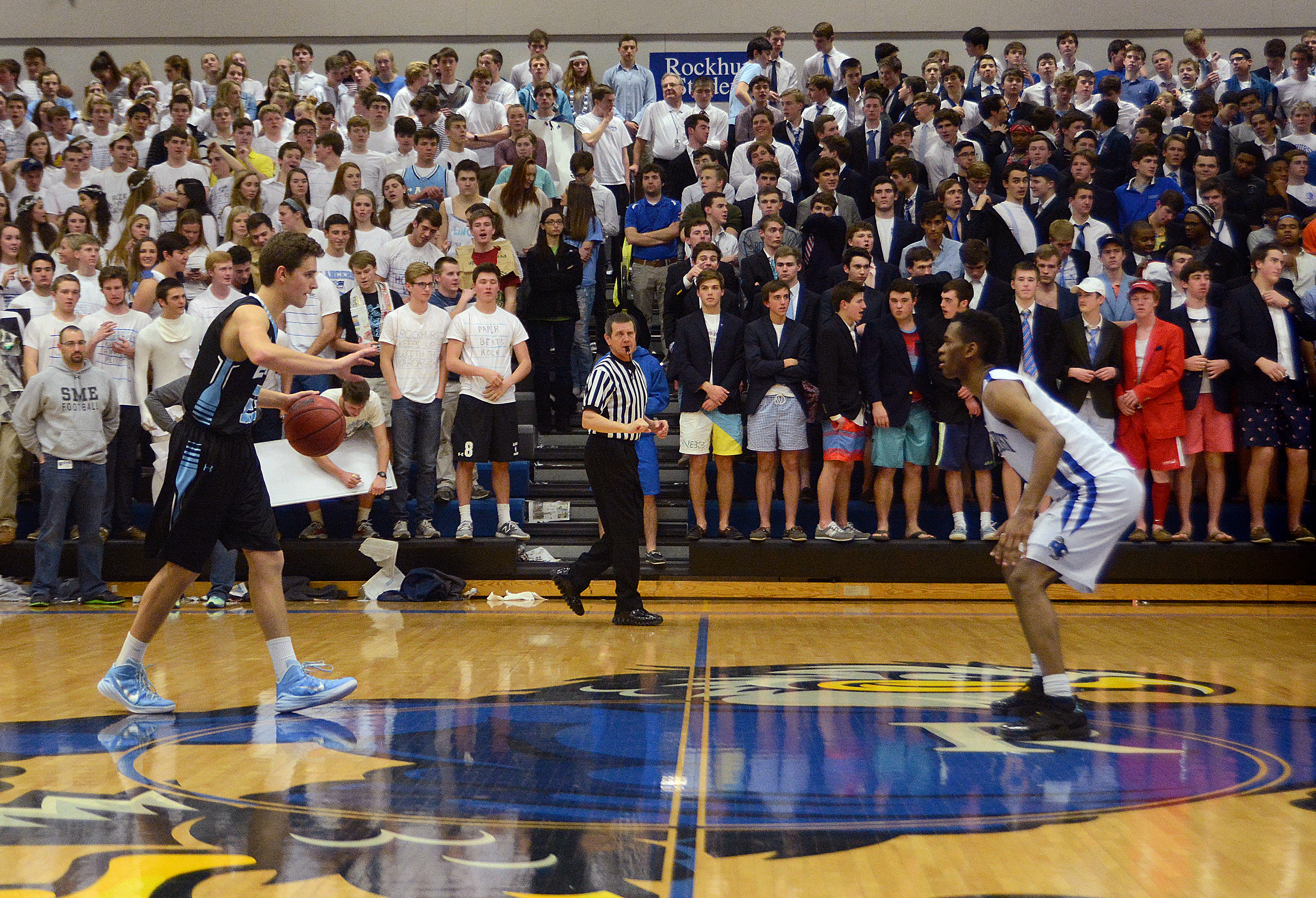 Soundslide: Boy's Basketball vs. Rockhurst