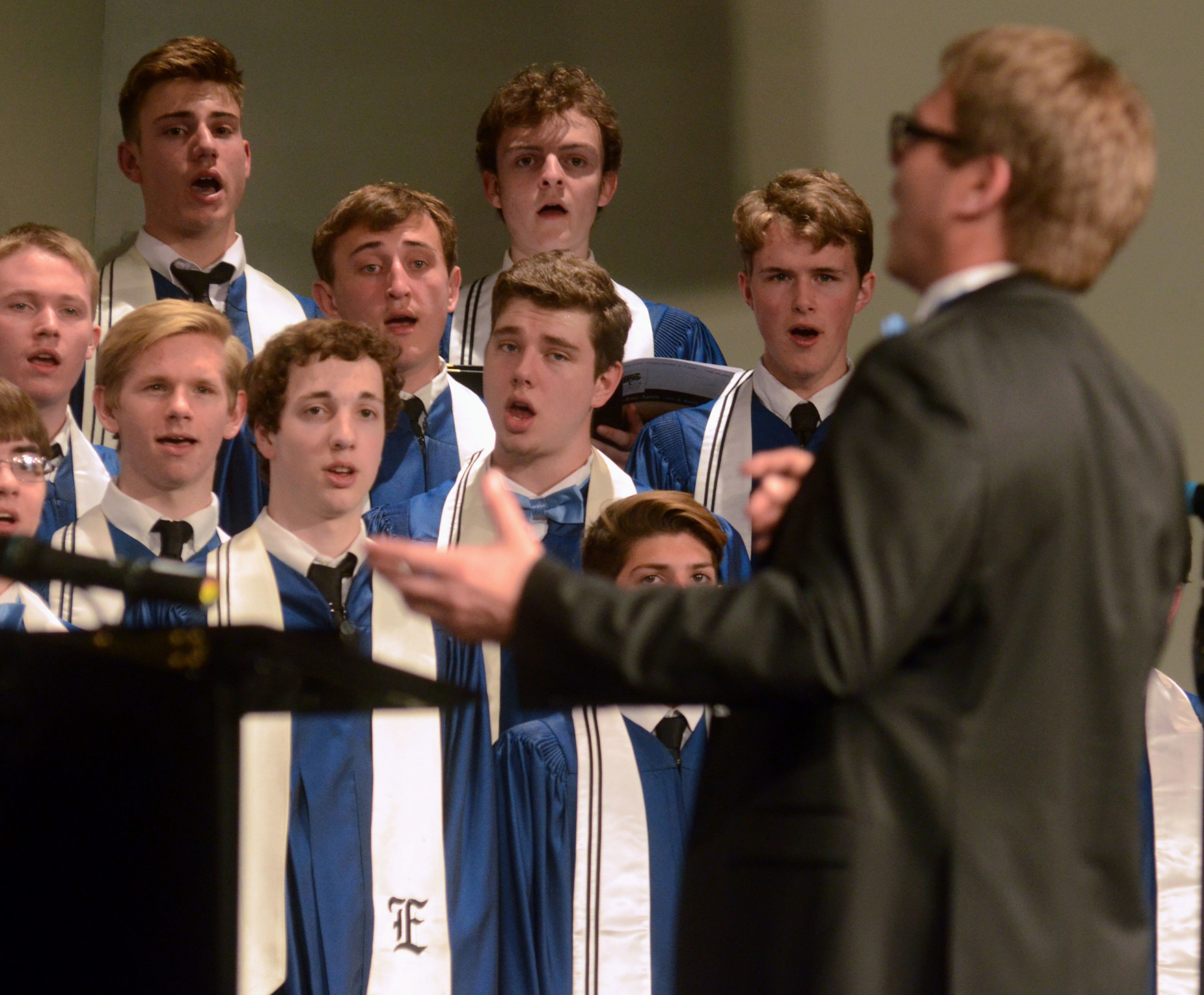 East Choirs Earn Highest Ratings at State Contest