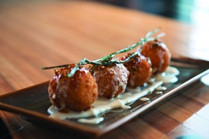 Char Bar hushpuppies