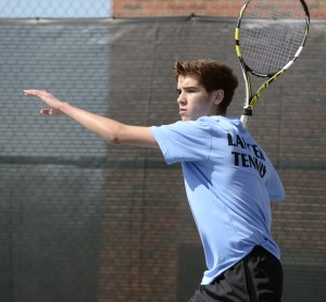 Gallery: Boys' Tennis Match vs. Topeka