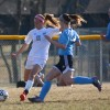 Senior Emmy Sietz sets up for a cross. Photo by Joseph Cline