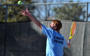 Boys Varsity Tennis Defeats SM South