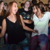 Freshmen Maggie Mulligan and Pauline Shaver have fun showing off their dance moves together. Photo by Abby Blake