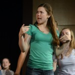 "Senior Annika Kuhnke dances during ""Life is a Highway"". Photo by Morgan Browning"