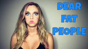 Dear Fat People Video: Response