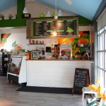 The front part of Ruby Jean's Juicery, right when you walk in. Photo by Morgan Browning