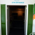 At the back of the store, there is an entrance to a 24-hour gym owned by a separate company. Photo by Morgan Browning
