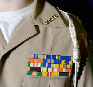 Battling for the Bars: Behind the Uniform