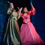 "Junior Haley Lynch, as Joy, and Sophomore Grace Chisholm, as Portia, sing ""Stepsisters Lament"". Photo by Abby Blake"