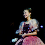 "Senior Chloe Kerwin, the Fairy Godmother, smiles while singing ""Impossible"". Photo By Kaitlyn Stratman"