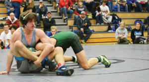 Senior Michael Aldrich Places Fifth at Wrestling State