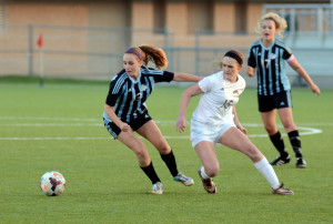 Gallery: Girls' Varsity Soccer vs. Olathe Northwest