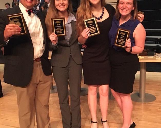 Forensics Hosts Showcase to Pay for Nationals