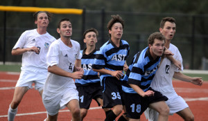 Gallery: Black and Blue Soccer Scrimmage